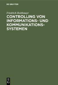 Cover Controlling von Informations- und Kommunikationssystemen