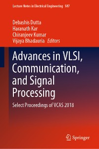 Cover Advances in VLSI, Communication, and Signal Processing