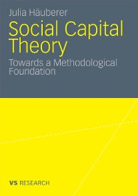 Cover Social Capital Theory