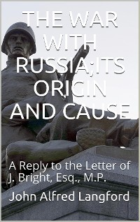 Cover The War with Russia / Its Origin and Cause