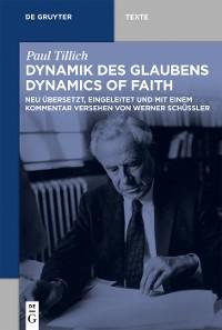 Cover Dynamik des Glaubens (Dynamics of Faith)