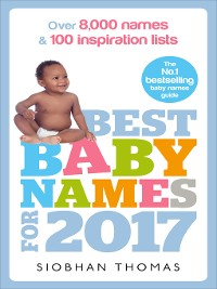 Cover Best Baby Names for 2017