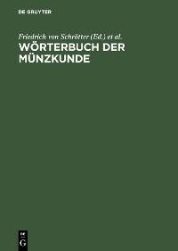 Cover Wörterbuch der Münzkunde