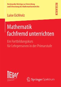 Cover Mathematik fachfremd unterrichten