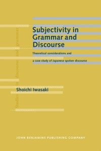 Cover Subjectivity in Grammar and Discourse