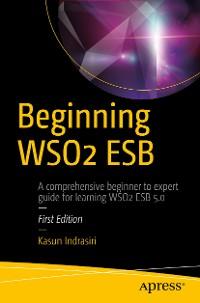 Cover Beginning WSO2 ESB