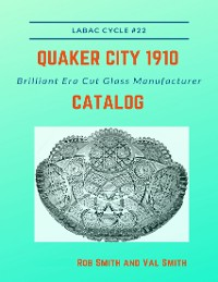 Cover Quaker City 1910 Brilliant Era Cut Glass Manufacturer Catalog