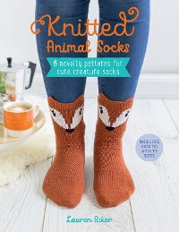 Cover Knitted Animal Socks