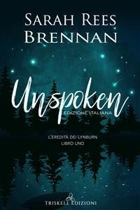 Cover Unspoken: Edizione italiana