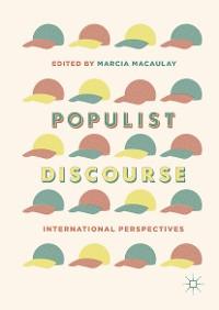 Cover Populist Discourse