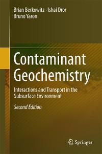 Cover Contaminant Geochemistry