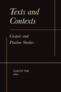Cover Texts and Contexts