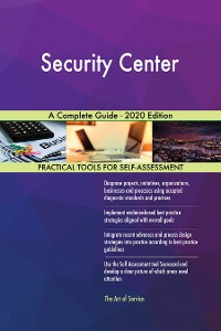 Cover Security Center A Complete Guide - 2020 Edition