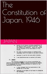 Cover The Constitution of Japan, 1946