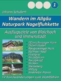 Cover Naturpark Nagelfluhkette Allgäu Wanderungen zum Wohlfühlen
