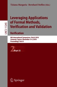 Cover Leveraging Applications of Formal Methods, Verification and Validation. Verification
