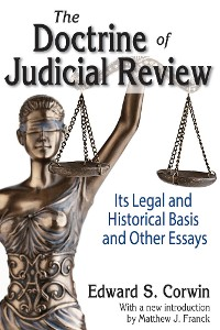 Cover The Doctrine of Judicial Review