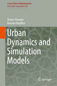 Cover Urban Dynamics and Simulation Models