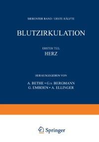 Cover Handbuch der normalen und pathologischen Physiologie