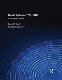 Cover Daniel Belknap (1771-1815)