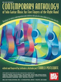 Cover Contemporary Anthology of Solo Guitar Music