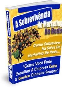 Cover A Sobrevivência No Marketing De Rede