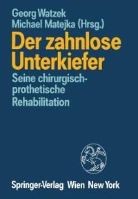 Cover Der zahnlose Unterkiefer