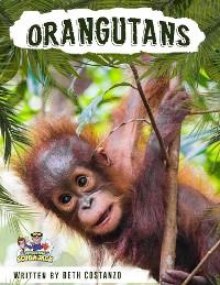 Cover Orangutan Activity Workbook for Kids age 4-8!