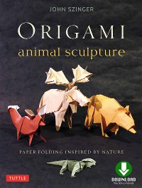 Cover Origami Animal Sculpture