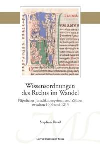 Cover Wissensordnungen des Rechts im Wandel