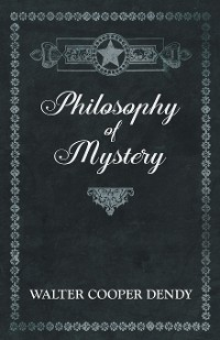 Cover Philosophy of Mystery