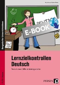 Cover Lernzielkontrollen Deutsch 9./10. Klasse