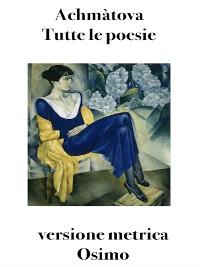 Cover Tutte le poesie