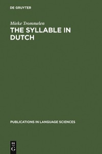 Cover The Syllable in Dutch