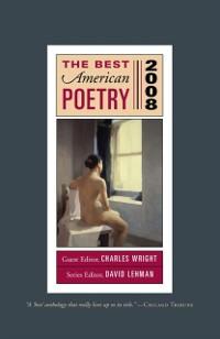 Cover Best American Poetry 2008