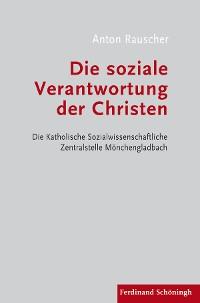 Cover Die soziale Verantwortung der Christen