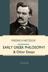 Cover Early Greek Philosophy & Other Essays
