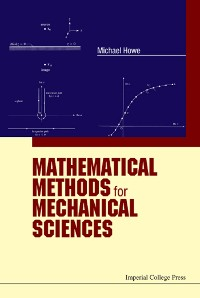 Cover Mathematical Methods for Mechanical Sciences
