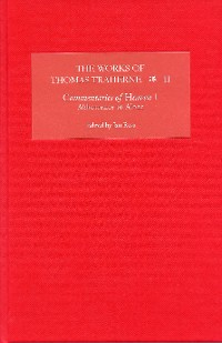Cover The Works of Thomas Traherne II