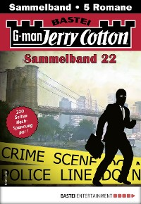 Cover Jerry Cotton Sammelband 22 - Krimi-Serie