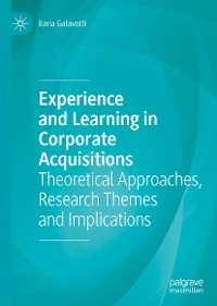 Cover Experience and Learning in Corporate Acquisitions