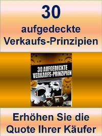 Cover 30 aufgedeckte Verkaufs-Prinzipien