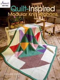 Cover Quilt Inspired Modular Knit Afghans