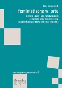 Cover feministische w_orte