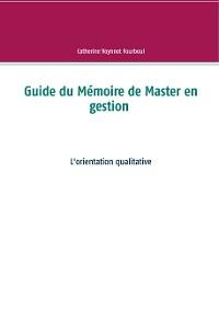Cover Guide du Mémoire de Master en gestion