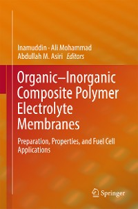 Cover Organic-Inorganic Composite Polymer Electrolyte Membranes