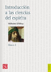 Cover Obras I. Introducción a las ciencias del espíritu