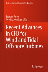 Cover Recent Advances in CFD for Wind and Tidal Offshore Turbines