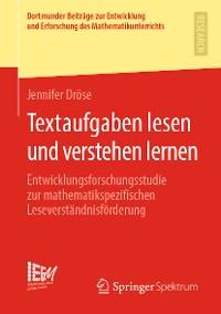 Cover Textaufgaben lesen und verstehen lernen
