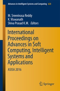Cover International Proceedings on Advances in Soft Computing, Intelligent Systems and Applications
